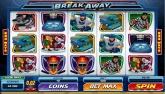 Cliquez ici pour jouer à la machine à sous Vidéo: Break Away en version Flash...