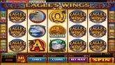 Cliquez ici pour jouer à la machine à sous Vidéo: Eagles Wings en version Flash...
