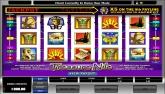Click Here to View this Progressive Video Slot Flash Game: TreasureNile...